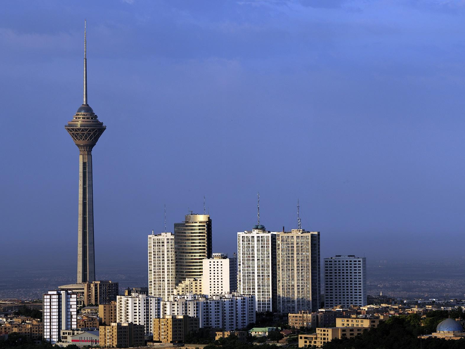 عکس زیبای برج میلاد تهران