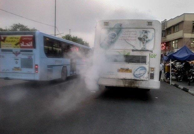 خسارت ۴۰۰ میلیونی هر اتوبوس فرسوده به جان شهروندان تهرانی