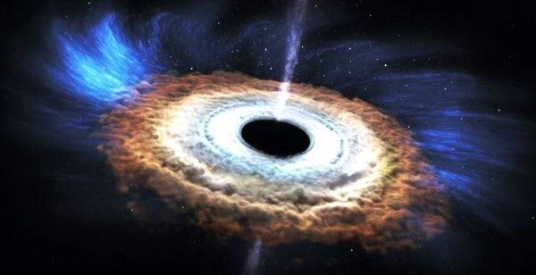فیلم | سیاهچالهها چگونه ستارگان را میبلعند