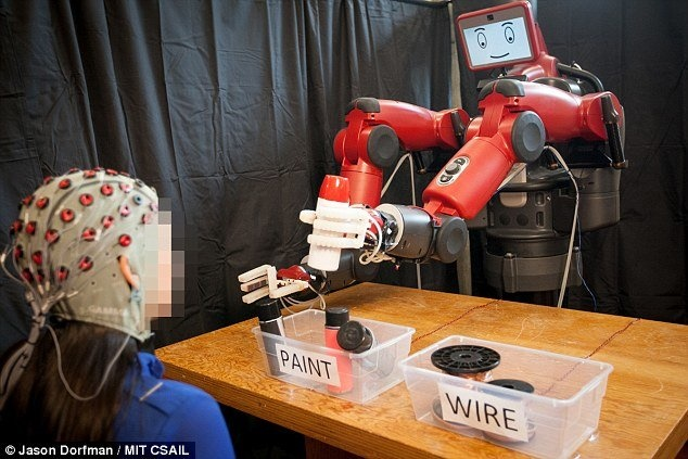 فیلم | رباتی که ذهن انسان را میخواند