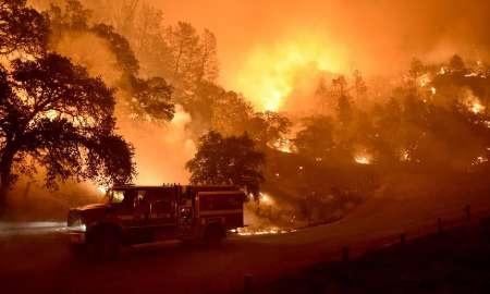 فیلم | گسترش آتشسوزی در  ۵ ایالت آمریکا