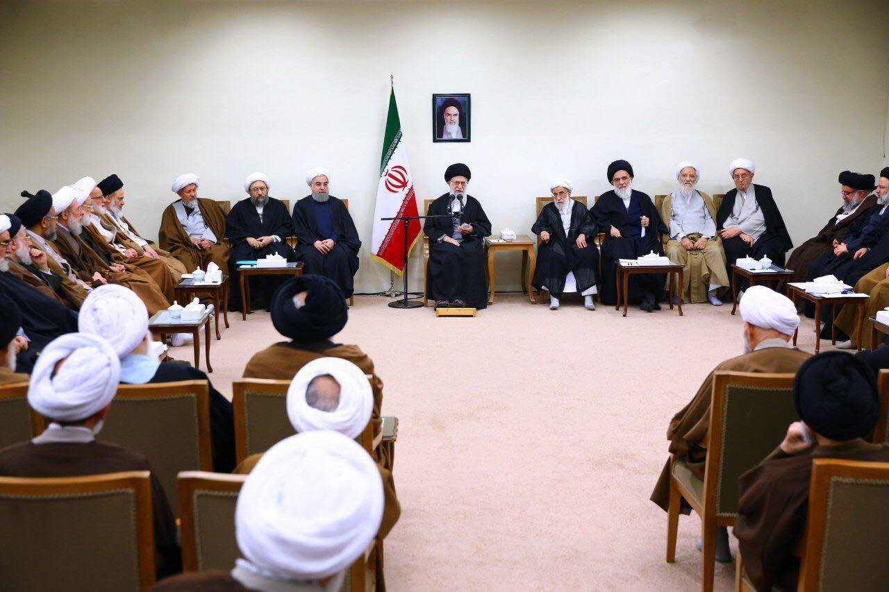 عکس|دیدار اعضای مجلس خبرگان با رهبر معظم انقلاب