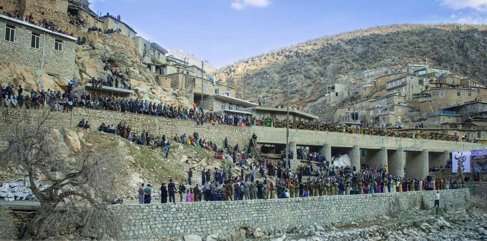 تصاویر | در حوالی نوروز | جشنی از ایران باستان در کردستان