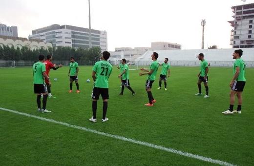 برگزاری آخرین تمرین ایران پیش از بازی با چین