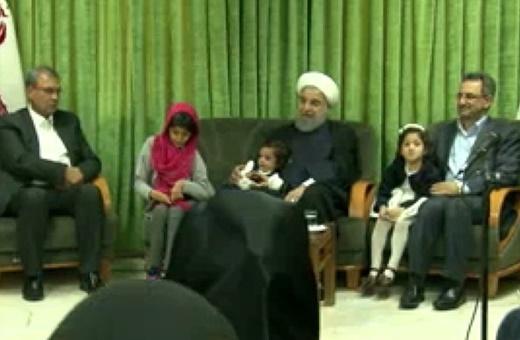 فیلم | عید دیدنی متفاوت رئیسجمهور | آقای روحانی بمانید تا این نهال بهسرانجام برسد