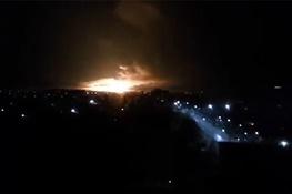 فیلم | انفجار بزرگترین انبار مهمات اوکراین | شهر «بالاکلیا» تخلیه شد
