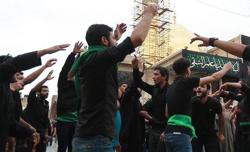 تصاویر | مراسم عزاداری شهادت امام هادی(ع) در سامرا