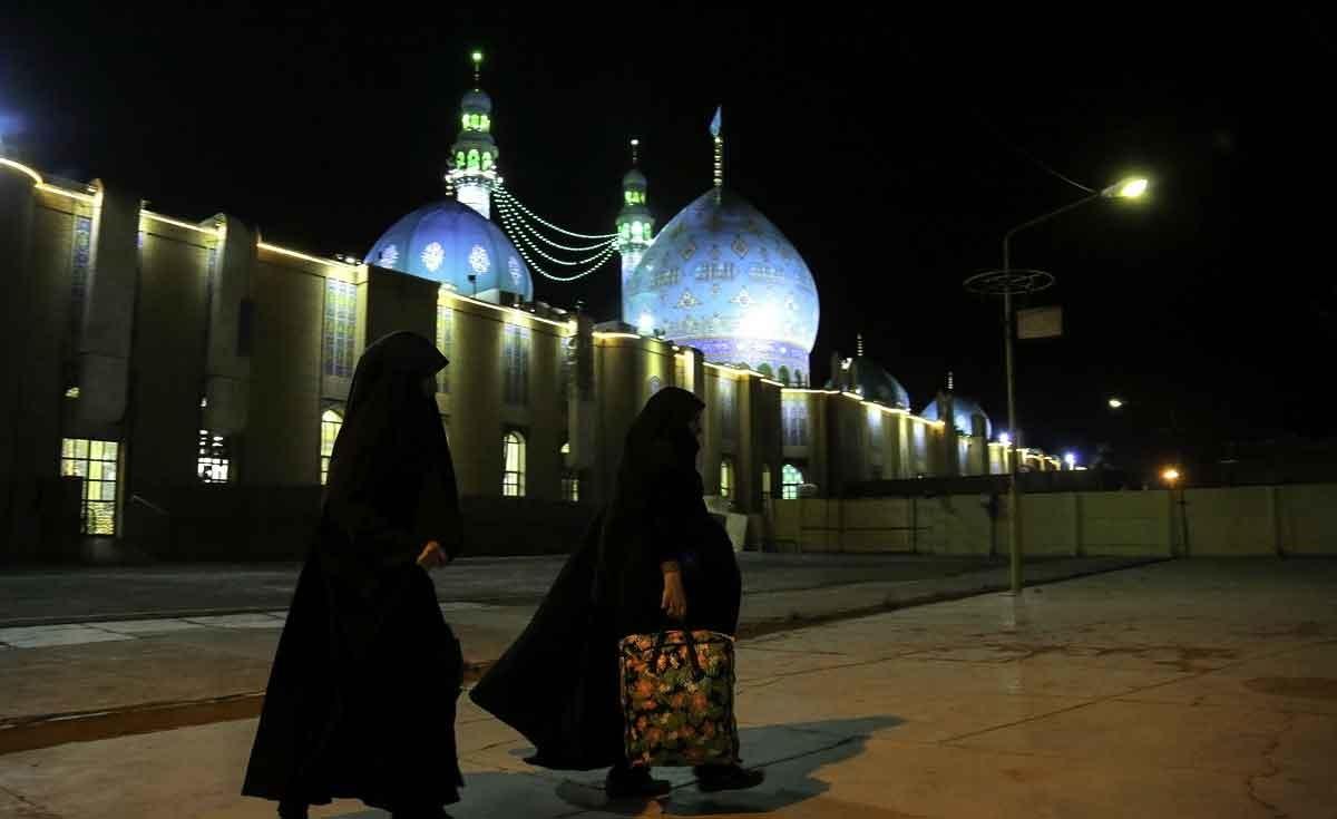 تصاویر | آغاز اعتکاف در مسجد جمکران