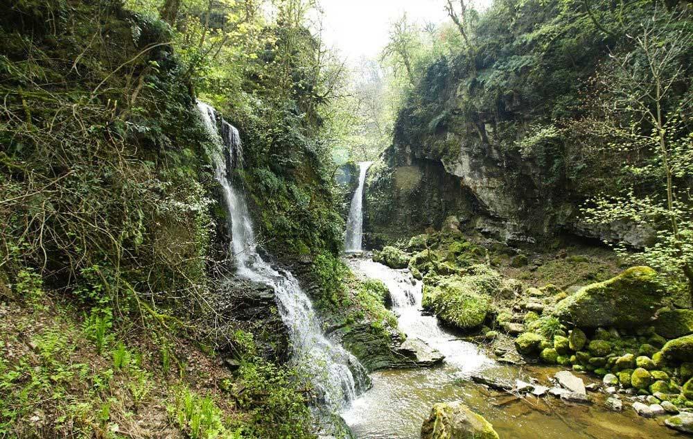 تصاویر | آبشار زمرد گیلان