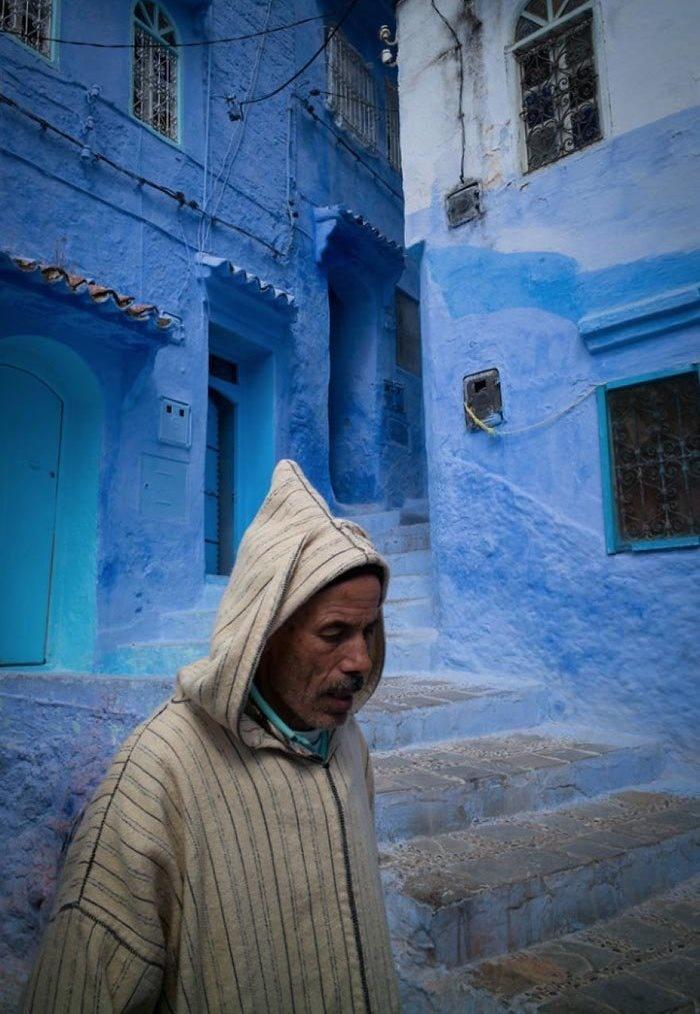 تصاویر | شاخ فیروزه ای مراکش؛ توریستها دلباخته آمستردام آفریقا!