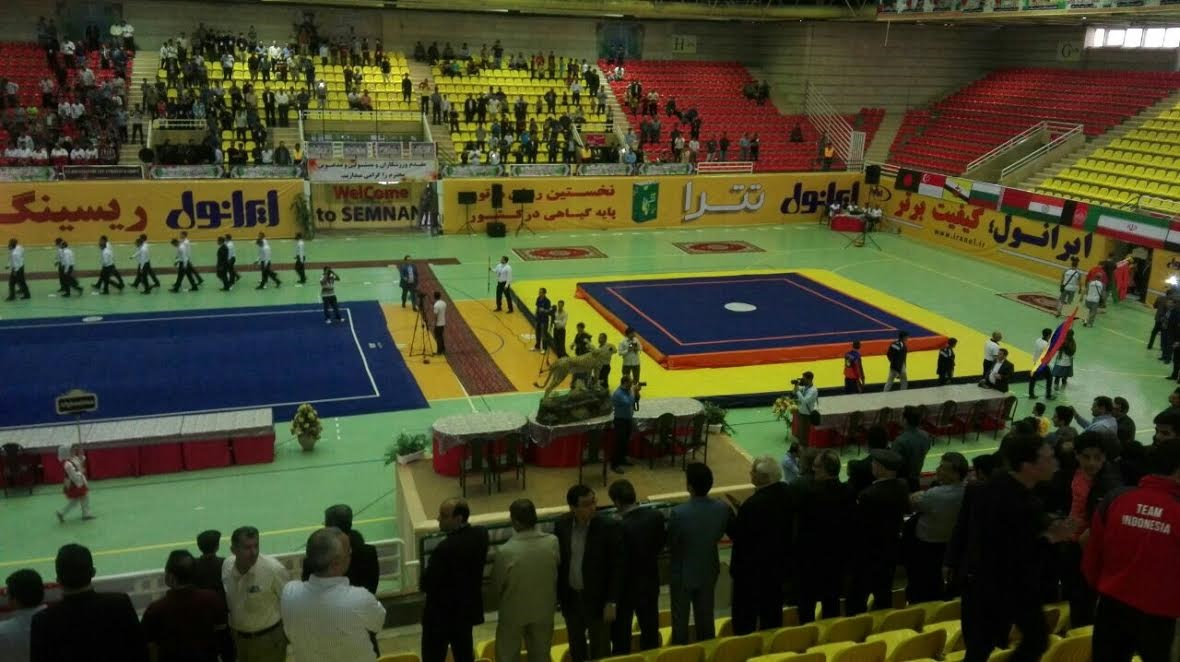 عدم استقبال مطلوب مردم سمنان از افتتاحیه مسابقات بینالمللی ووشو