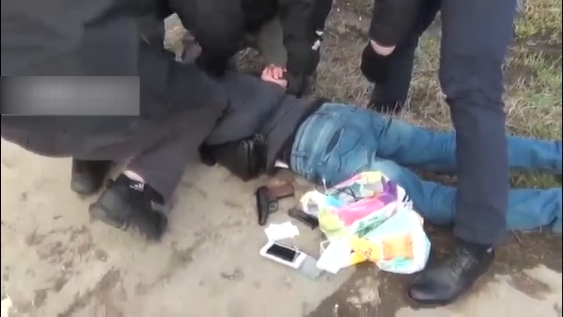 فیلم | لحظه بازداشت یکی دیگر از طراحان انفجار متروی سنپترزبورگ
