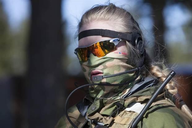 تصاویر | نخستین واحد نیروهای ویژه تماما زن جهان در ارتش نروژ