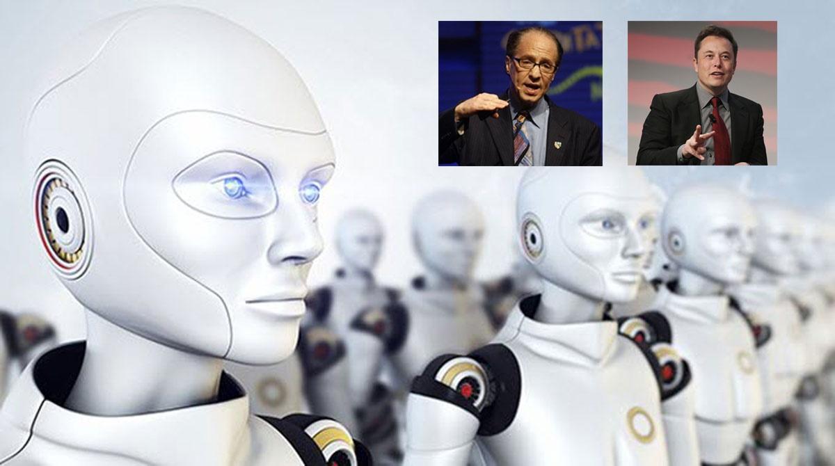 نگرانی ایلان ماسک از توسعه هوش مصنوعی و تأکید ریموند کرزویل به ادغام انسان و کامپیوتر در سال ۲۰۲۹