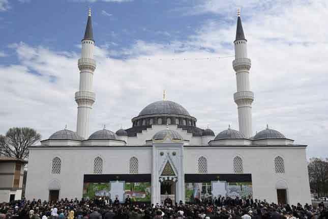 تصاویر | مسجدی زیبا در آمریکا