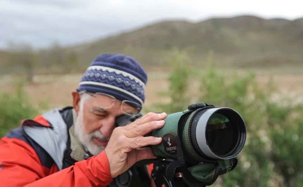 تصاویر | حضور تیم پرندهنگری سوئدی در پارک ملی گلستان