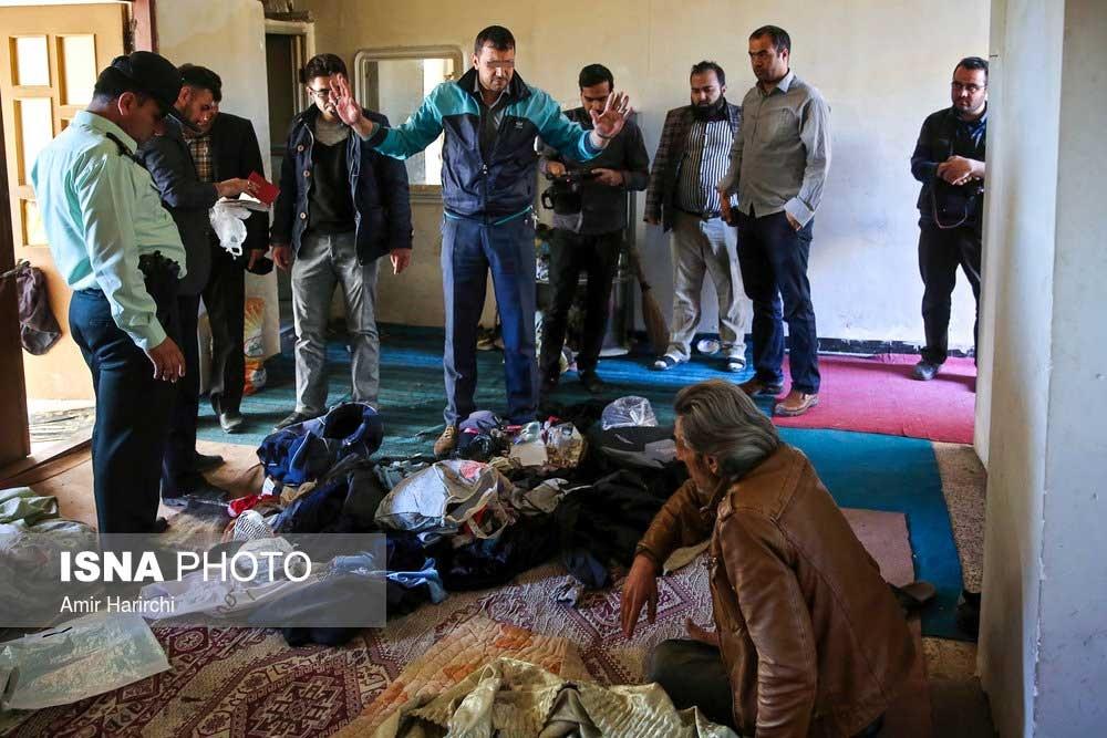تصاویر   پلمب مراکز تهیه و توزیع مواد مخدر در مشهد