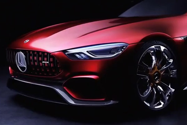 فیلم | تیزر تبلیغاتی کانسپت بنز AMG GT