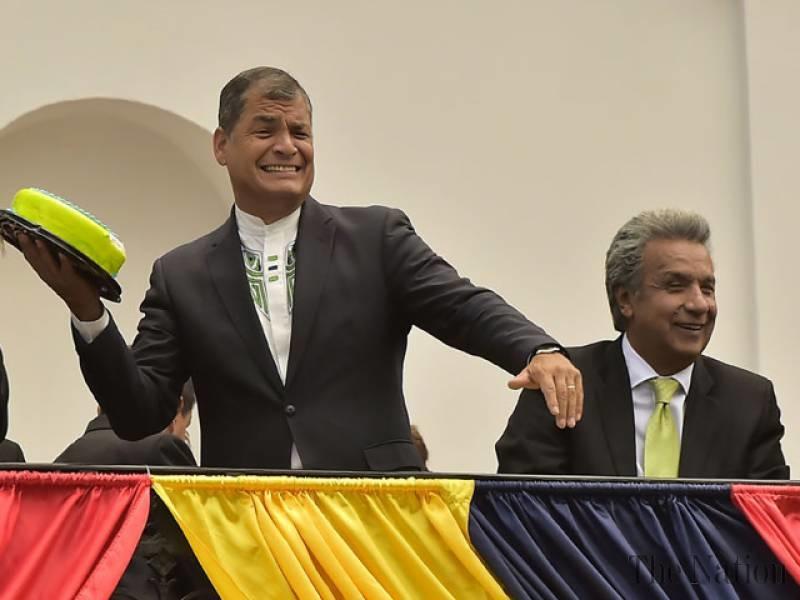تصاویر | جشن تولد رییسجمهوری اکوادور در آخرین روزهای قدرت