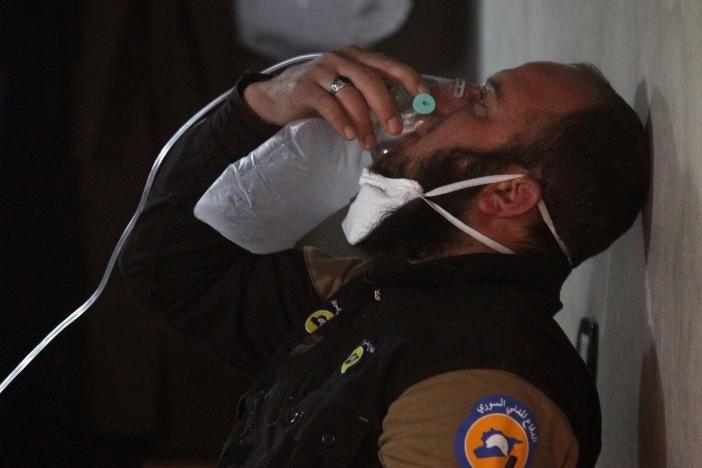 تصاویر دردناک از قربانیان حمله شیمیایی به خان شیخون سوریه