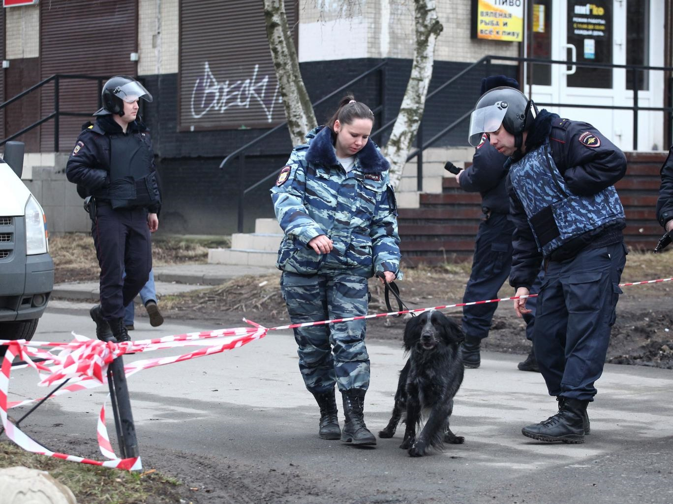 تصاویر   انفجار در یک ساختمان مسکونی، ۳ روز پس از حادثه خونین متروی سنپترزبورگ