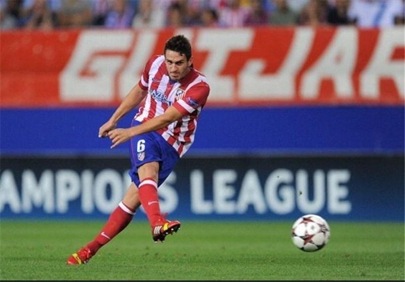 حمله مسلحانه به بازیکن اتلتیکو مادرید