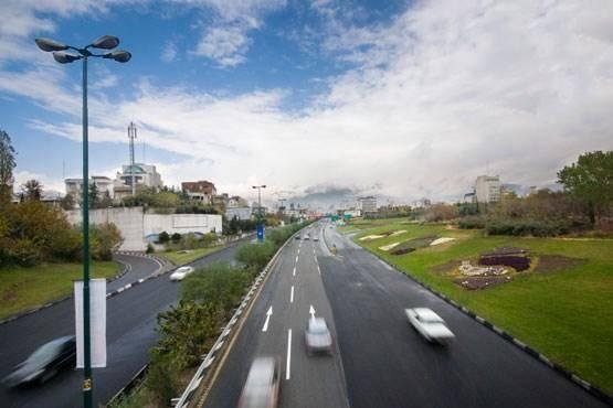 تصاویر | بزرگراه شهید مدرس از سال ۴۹ تا کنون