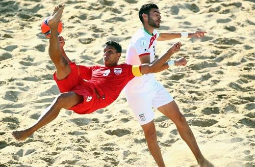 اولین پیروزی برای فوتبال ساحلی در اولین مسابقه