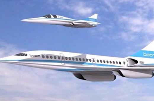 فیلم   هواپیمای مسافربری مافوق صوت در دبی
