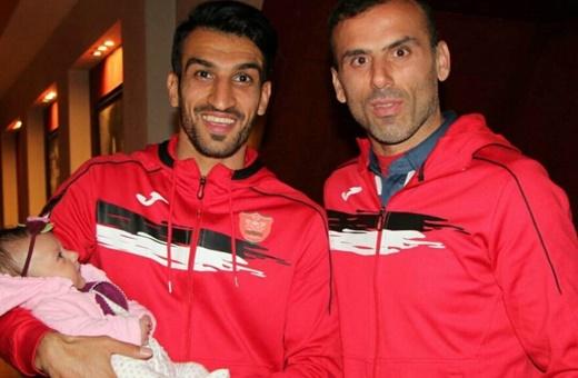 جلسه دو بازیکن پرسپولیس با مدیران باشگاه در دومین روز اعتصاب