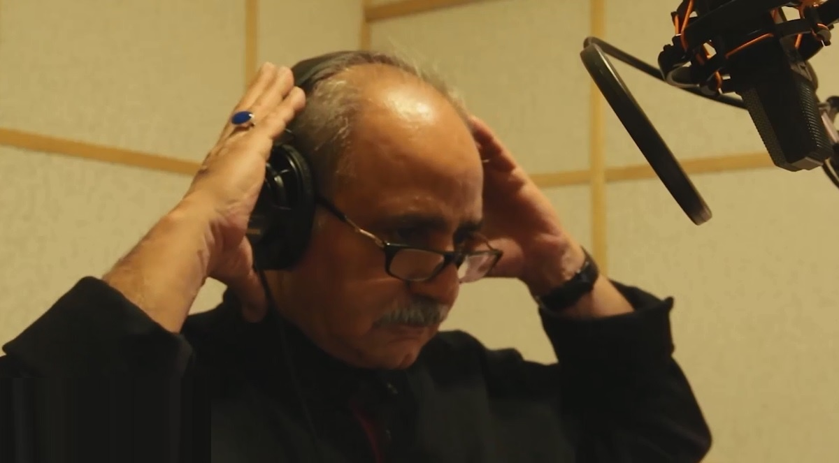فیلم | پرویز پرستویی و شقایق فراهانی در پشتصحنه دوبله یک انیمیشن