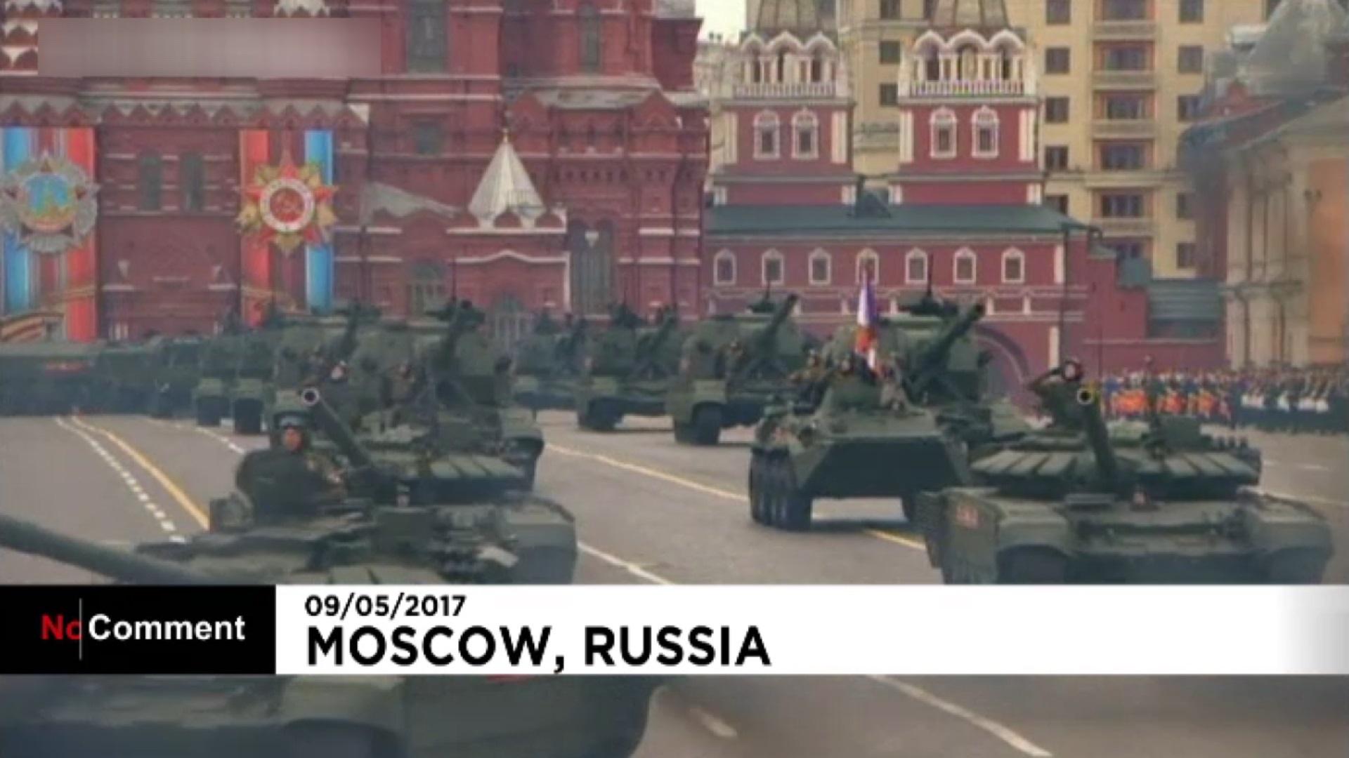 فیلم   رژه ارتش روسیه در روز ملی پیروزی
