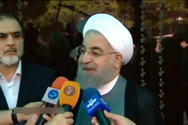 فیلم | روحانی: مهمترین طرح دولت، آزادی، امنیت، آرامش و پیشرفت است