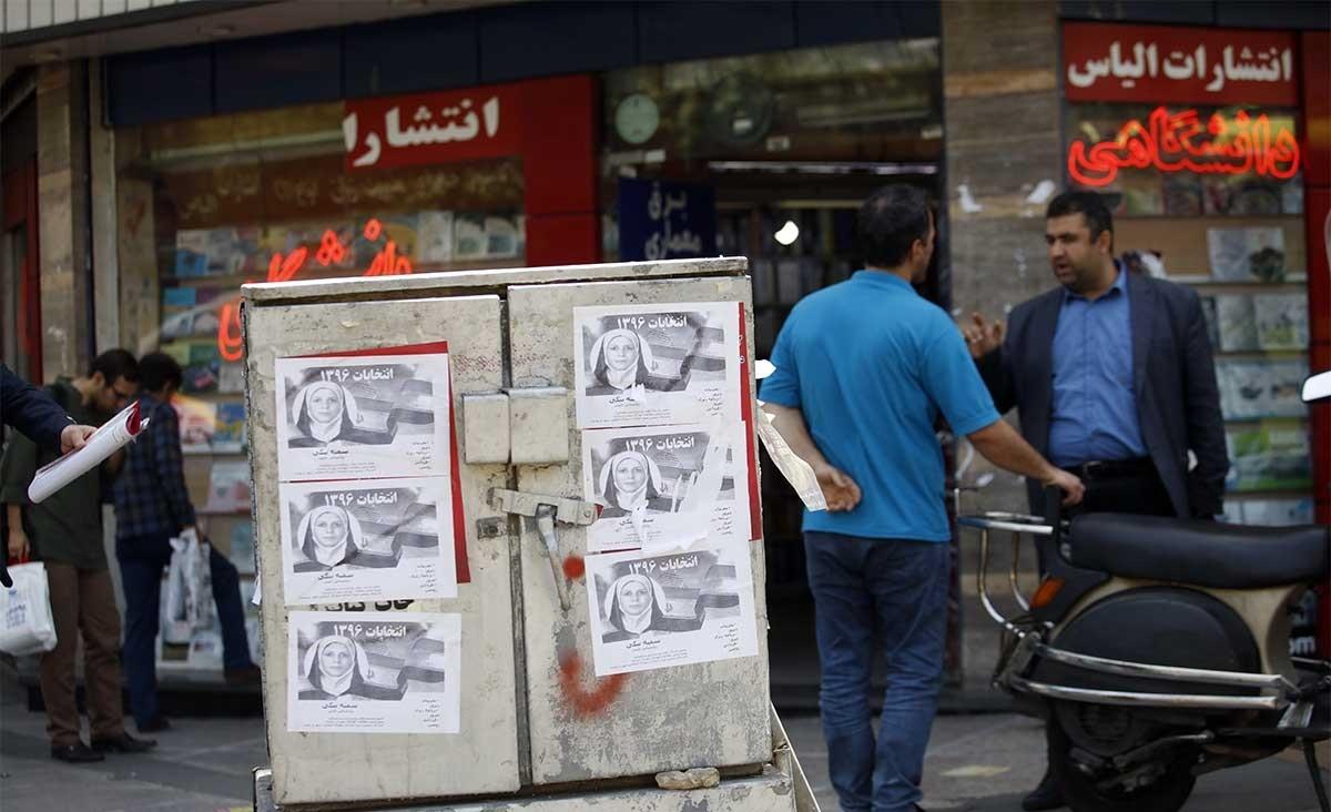تصاویر | تبلیغات انتخاباتی نامزدها در مکانهای نامناسب