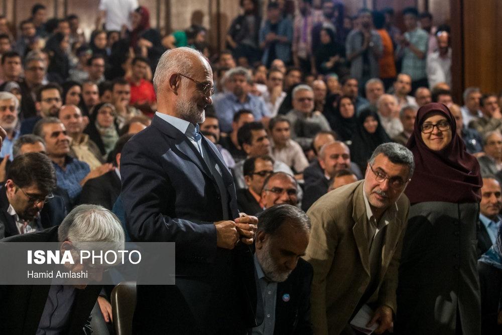 تصاویر | گردهمایی استادان دانشگاه حامی روحانی