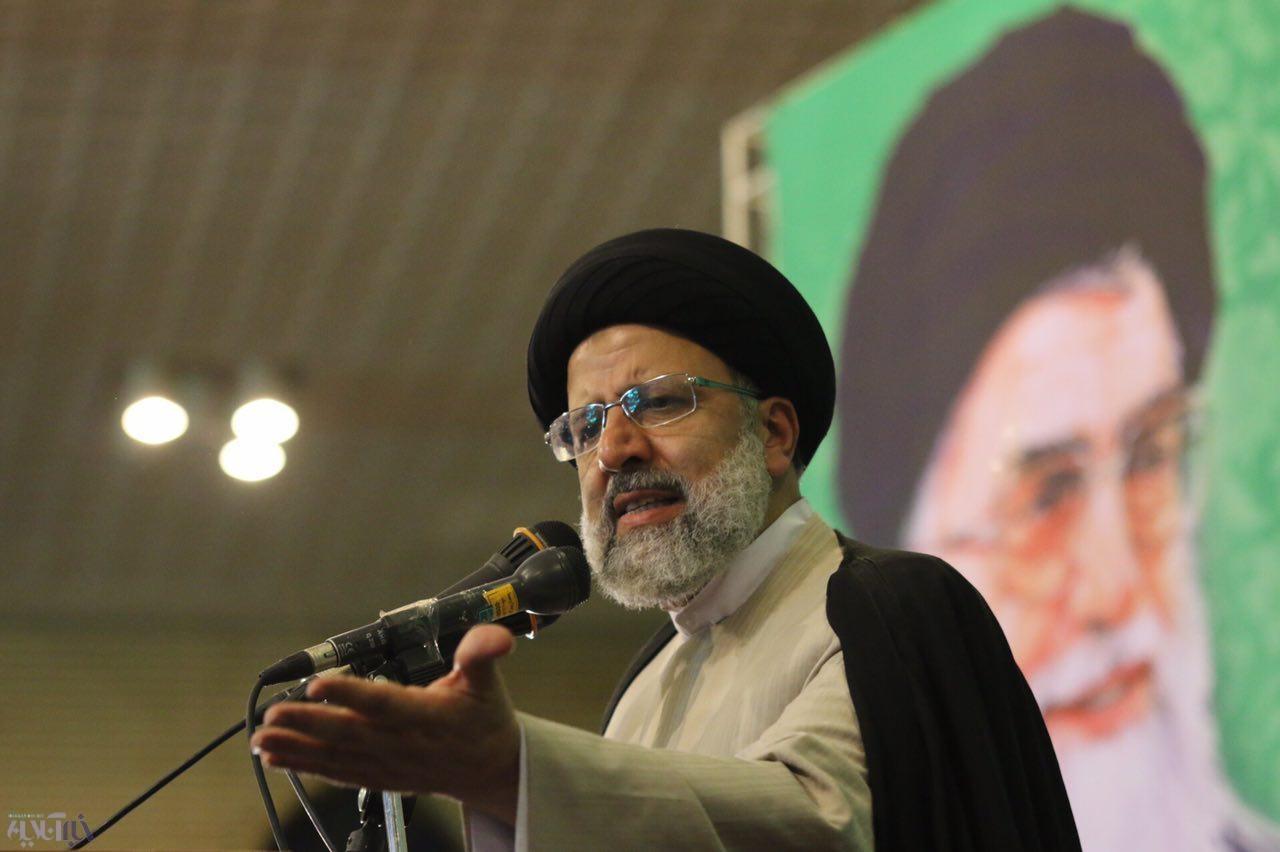 اجتماع هواداران حجتالاسلام رئیسی در ارومیه