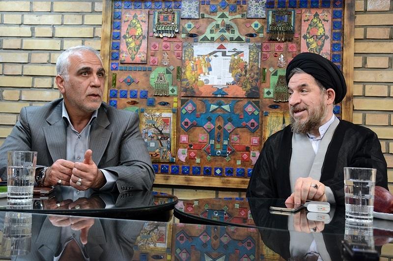 مناظره زنده خبرآنلاین/ معاون احمدینژاد:قالیباف مردانگی کرد/ وزیر دولت نهم:با رئیسی هماهنگ کرده؟/۱