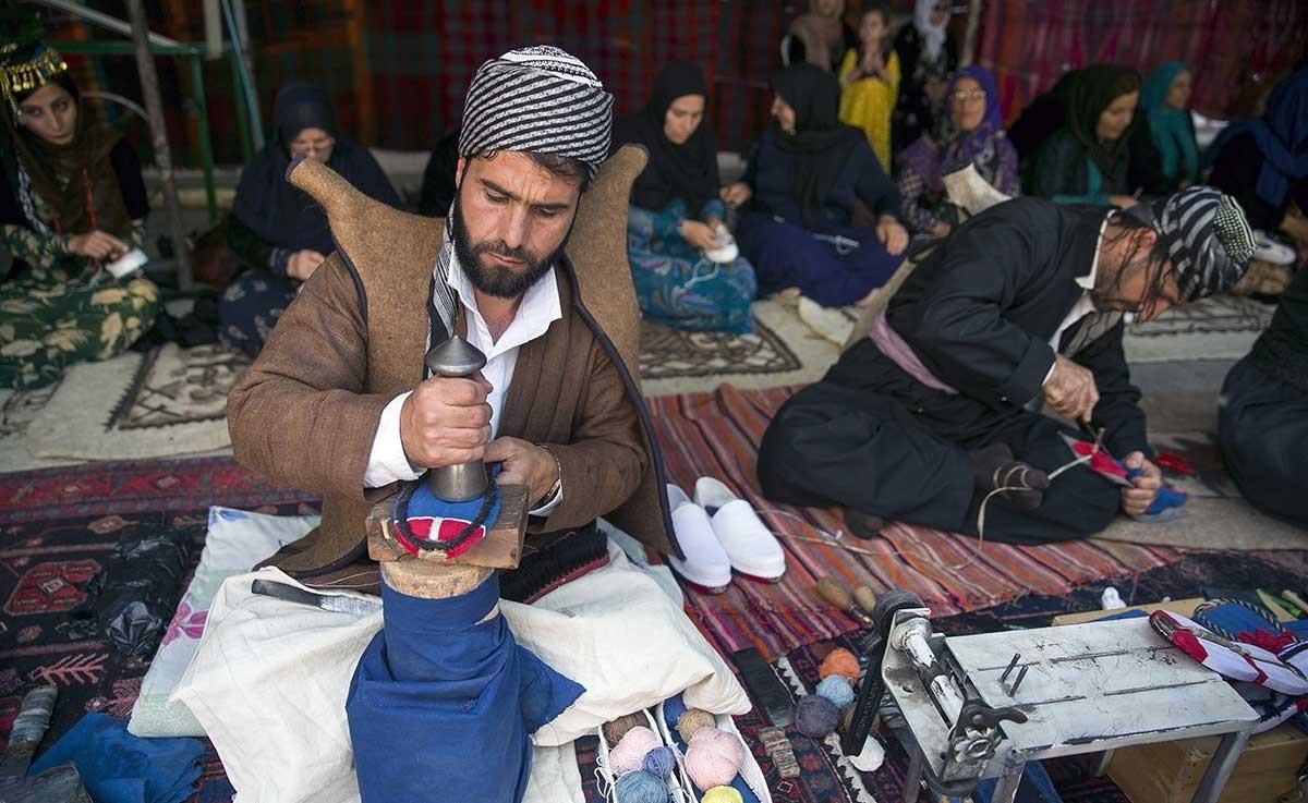 تصاویر | جشن ثبت ملی شهر گیوهبافی