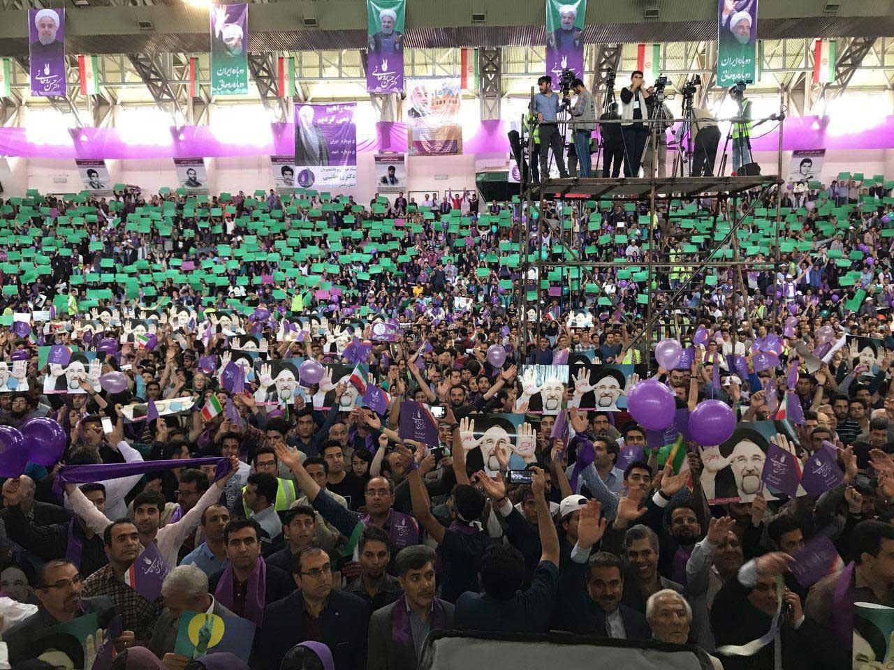 بیانیۀ جمعی از ورزشکاران، مربیان، داوران در حمایت از دکتر حسن روحانی