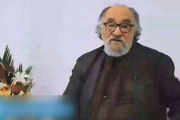 فیلم   دفاع تمامقد داریوش ارجمند از روحانی