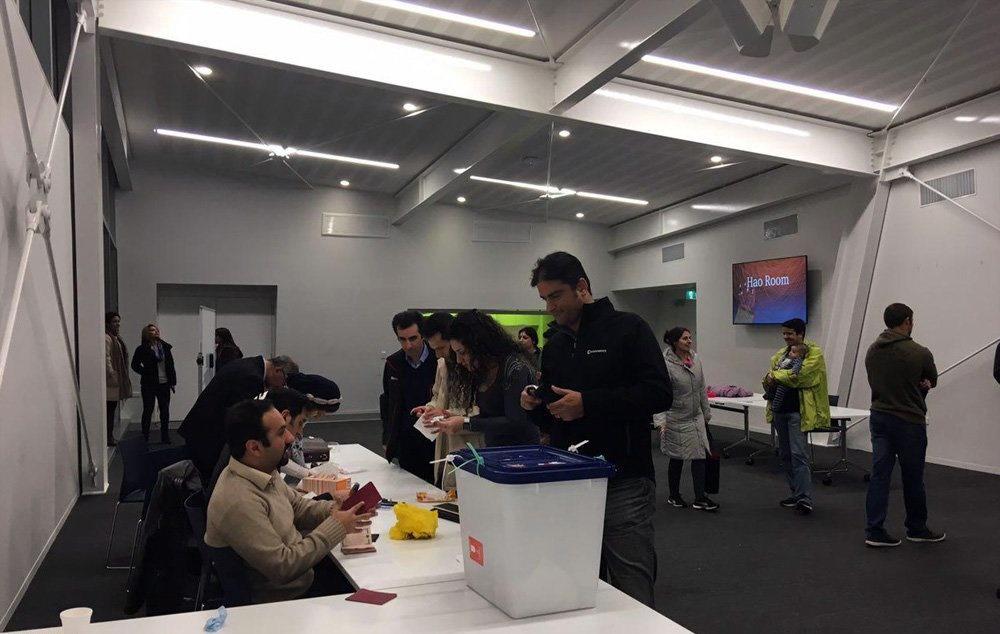 تصاویر | رایگیری انتخابات ریاستجمهوری در شهر کرایستچرچ نیوزیلند