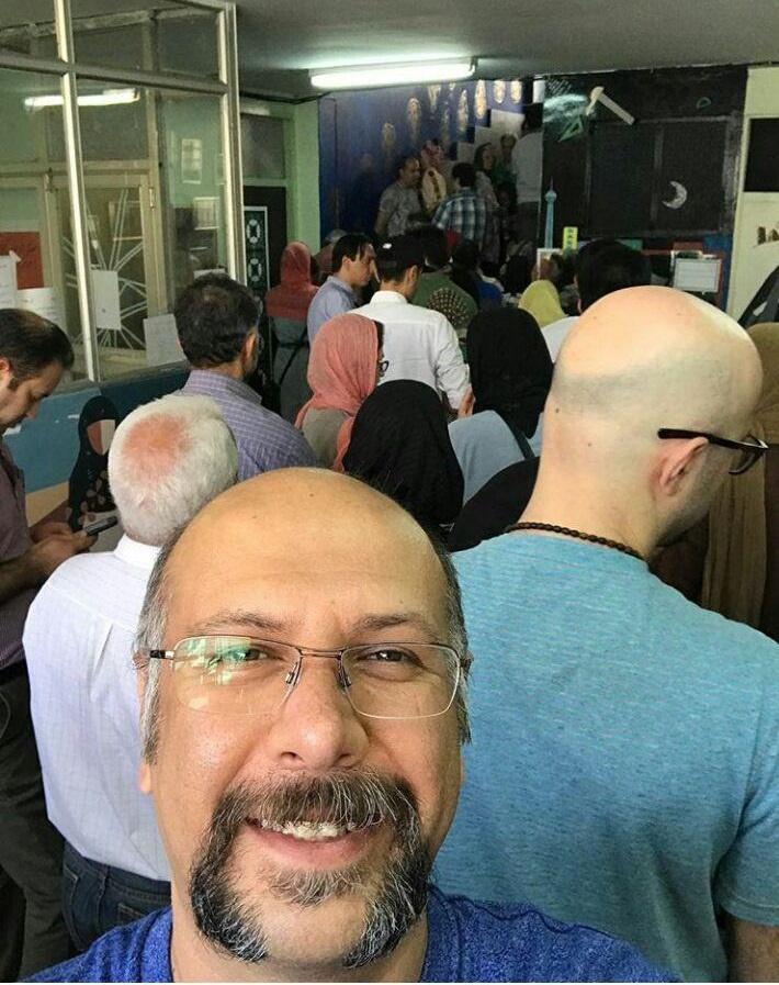 رای دادن محمد بحرانی