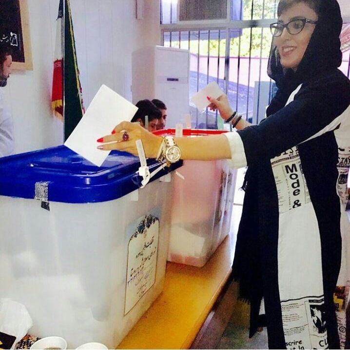 رای دادن لیلا بلوکات