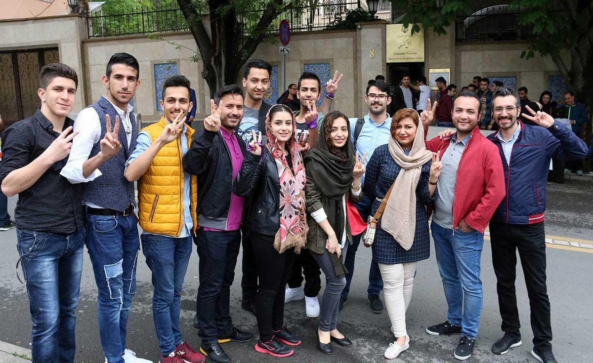 تصاویر | حضور ایرانیان مقیم ترکیه، پاکستان و هند در انتخابات ریاستجمهوری