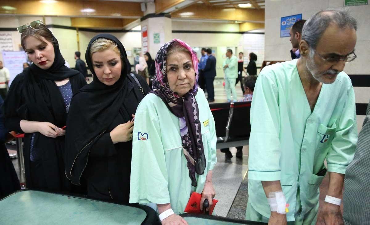 تصاویر | اخذ رای دربیمارستان میلاد تهران