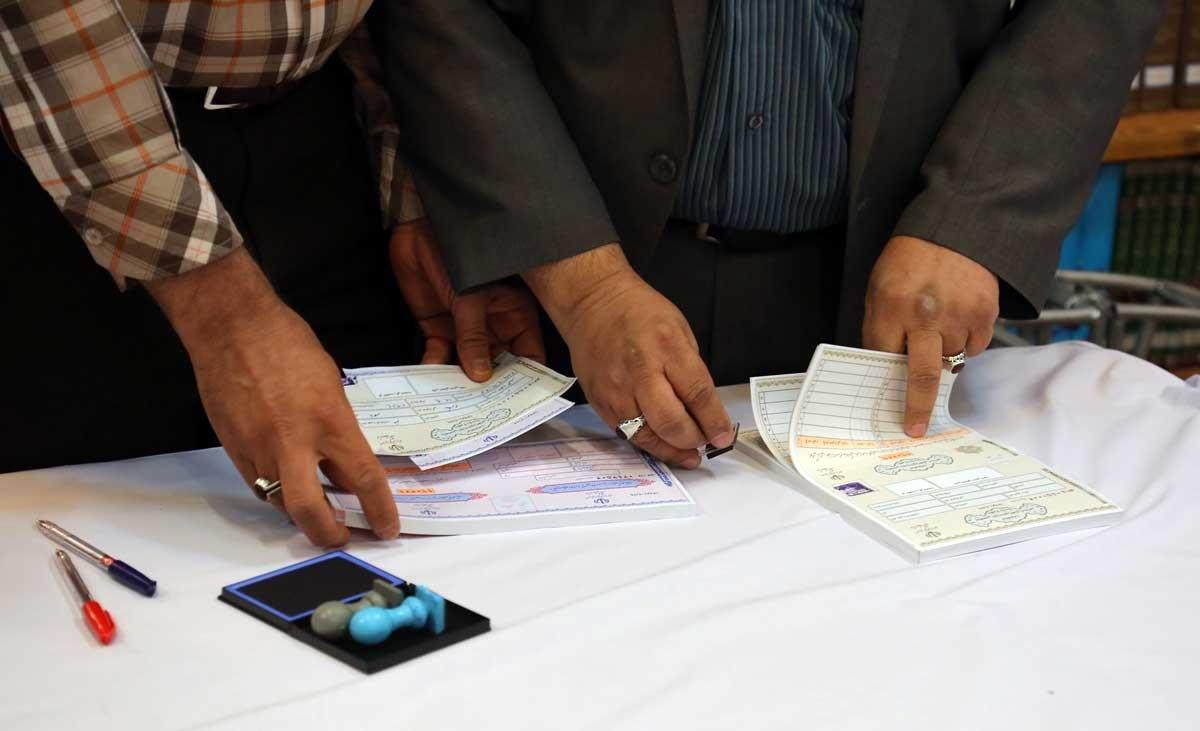 تصاویر | شرکت مراجع تقلید در انتخابات ریاست جمهوری