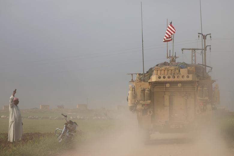 تصاویر | نیروهای آمریکایی حاضر در سوریه
