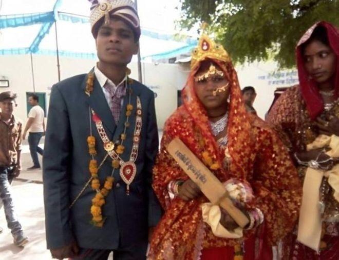 تصاویر | سلاح عروسهای هندی برای مقابله با دامادهای خشن