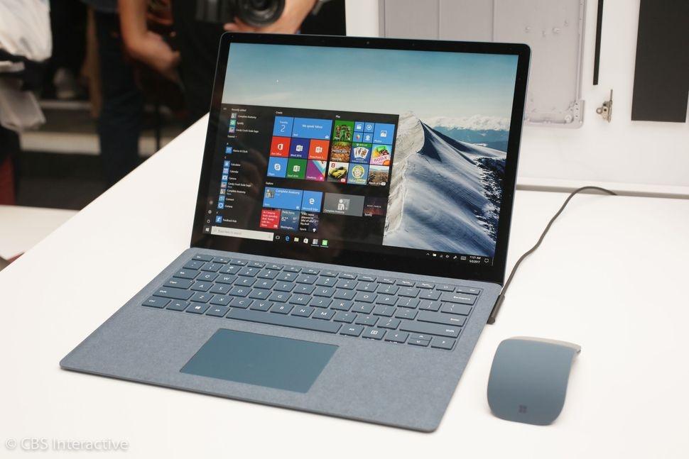 رونمایی مایکروسافت از لپتاپ سرفیس ۹۹۹ دلاری مجهز به ویندوز ۱۰ اس