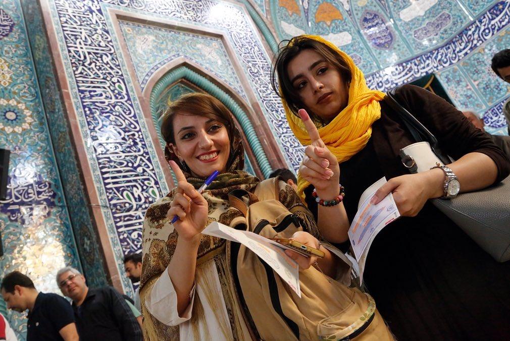 تصاویر | بازتاب جهانی حضور پرشور مردم ایران در روز انتخابات